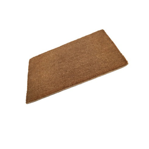 Standard Plain Coir Stitched Edge Doormat
