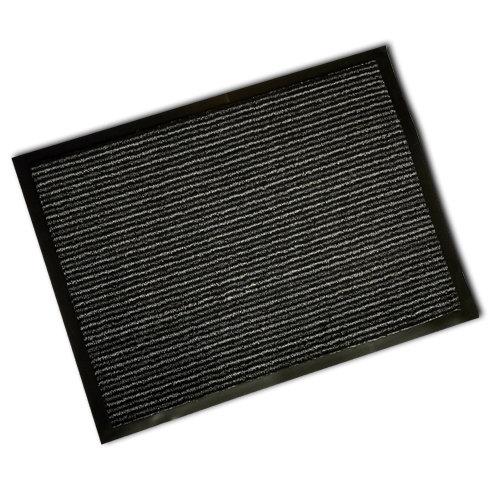 Decorative Scrapa Mat - Anthracite Stripe