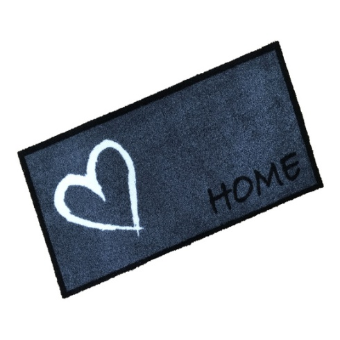 Home Heart Wash Mat