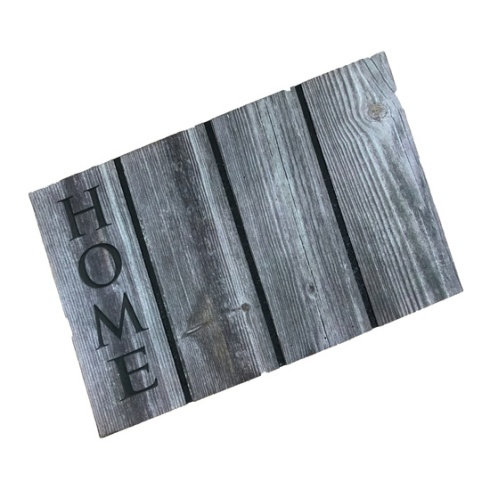 Ecomat Outdoor Wood Effect Mat - Home