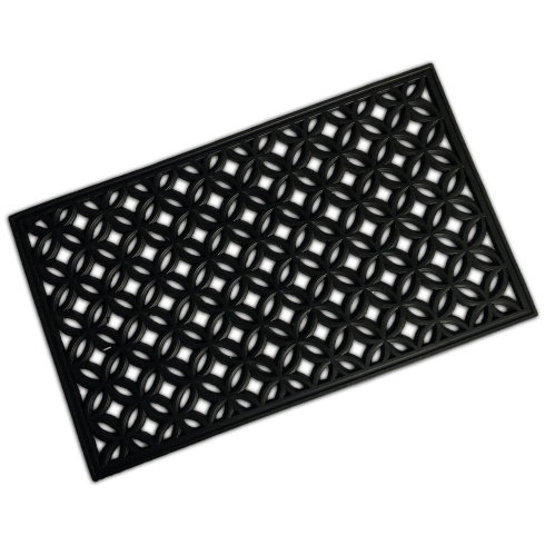 Rubber Mat - Circle Diamond