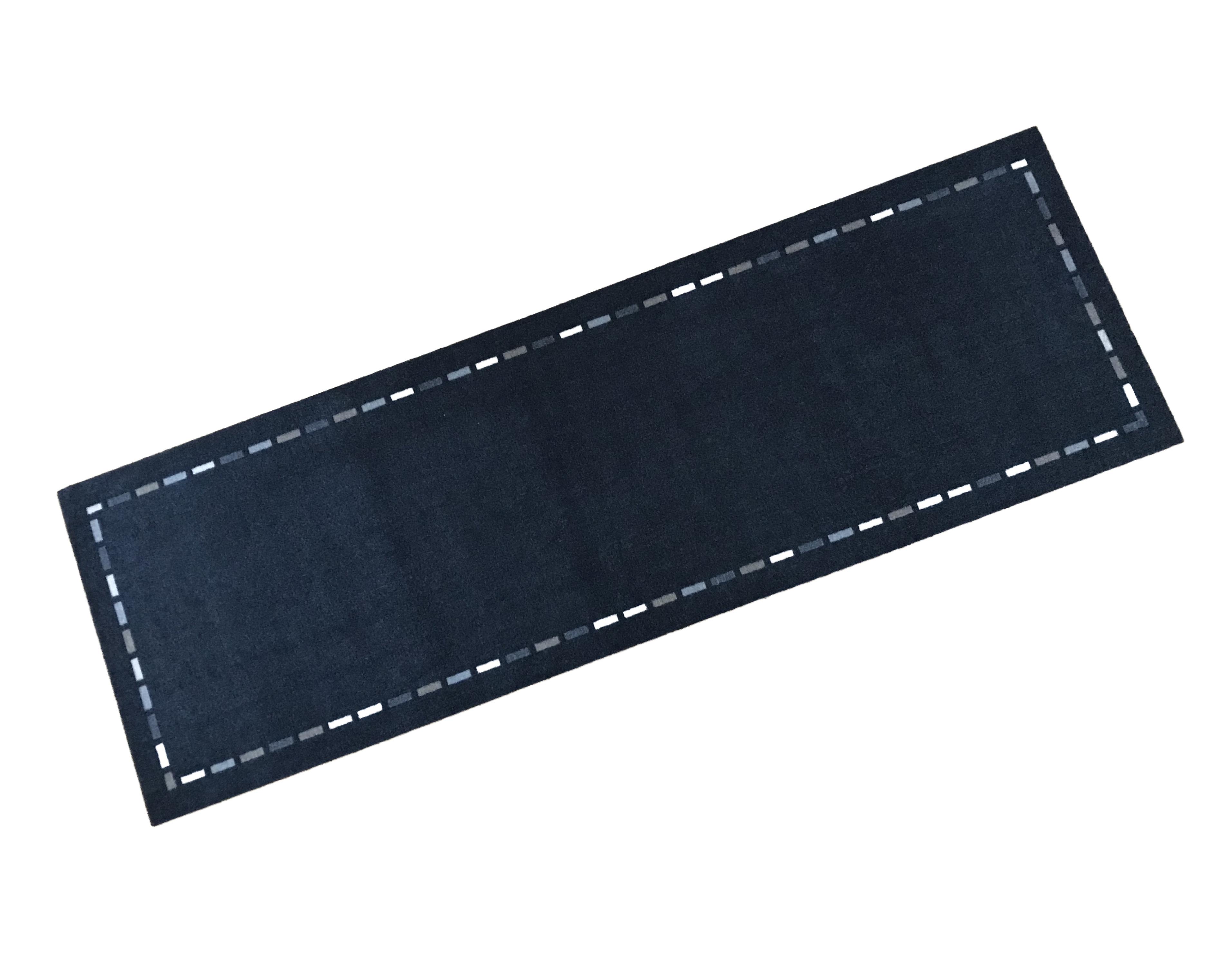 Stitched Edge Effect Wash Mat