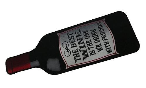 Decorative Wash Mat - Red Wine