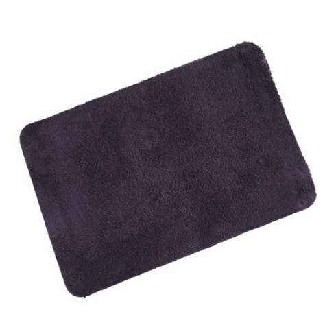 Purple Cotton Eco Wash Mat