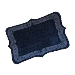 Classic Scroll Wash Mat
