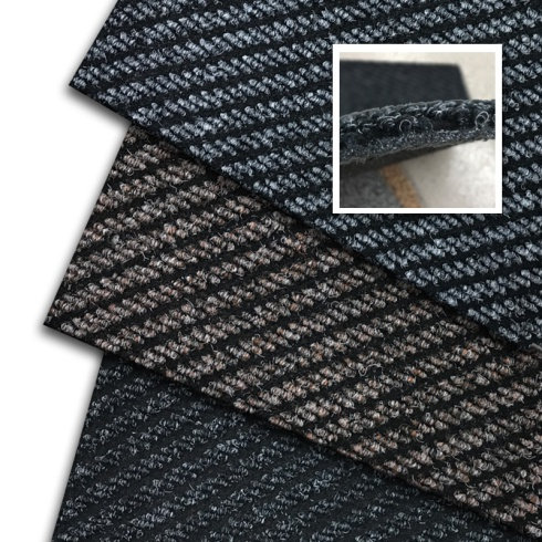 Cut-to-Size Heavy Duty Synthetic Diagonal Ribbed Matting