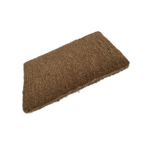 Economy Plain Coir Stitched Edge Doormat