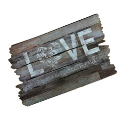 Love Is All You Need Outdoor Doormat