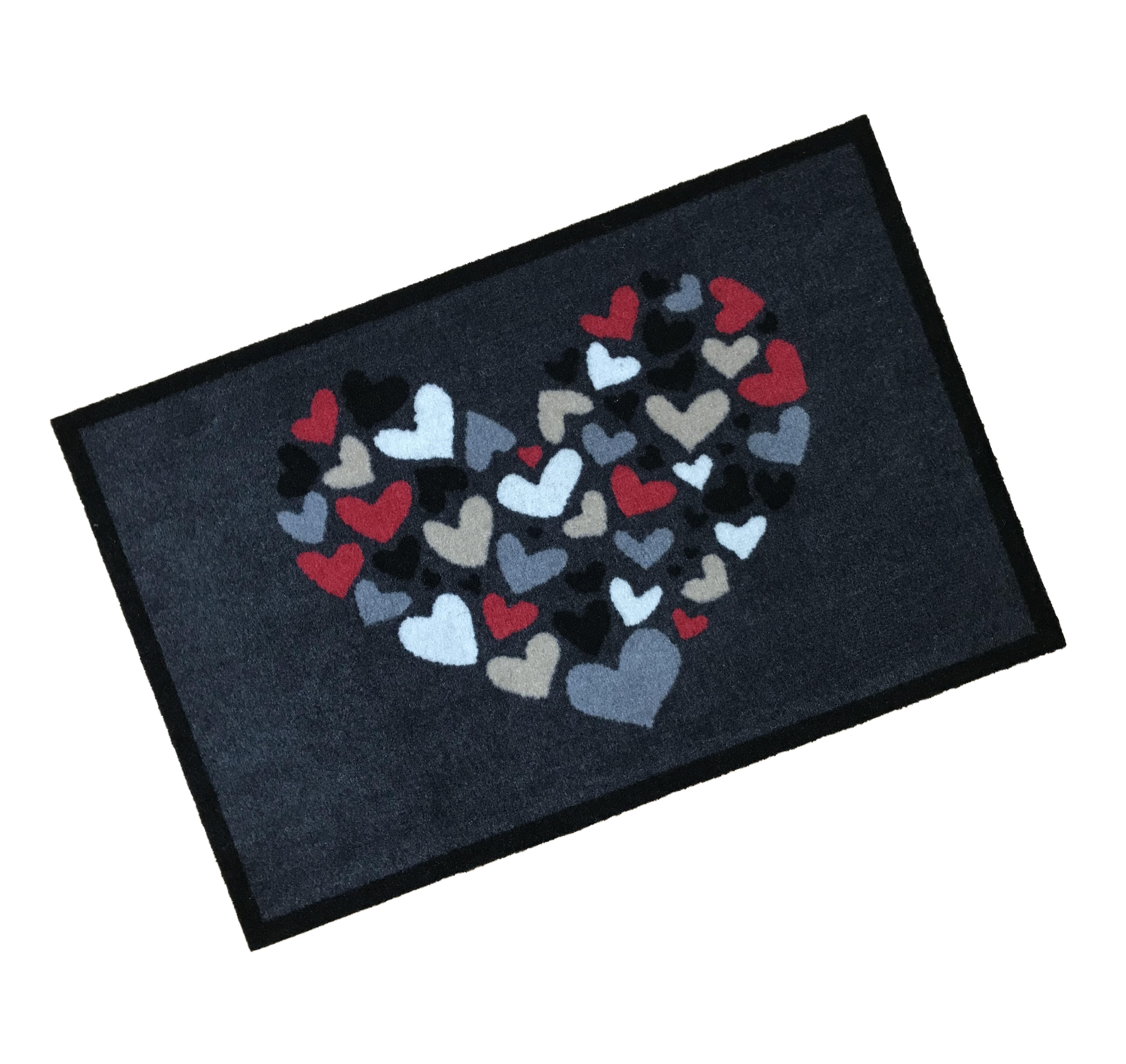Heart Wash Mat