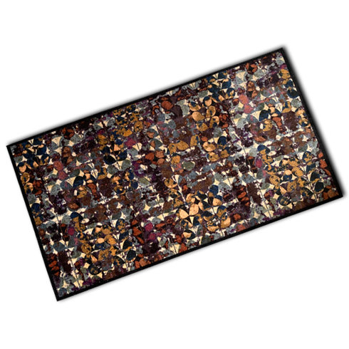 Decorative Wash Mat - Abstract Art Flowers
