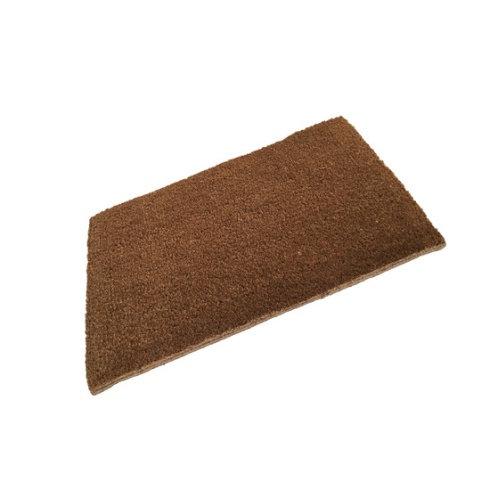 Latex Edged Plain Coir Doormat