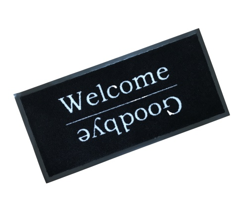 Welcome Goodbye Rubber Edged Wash Ma