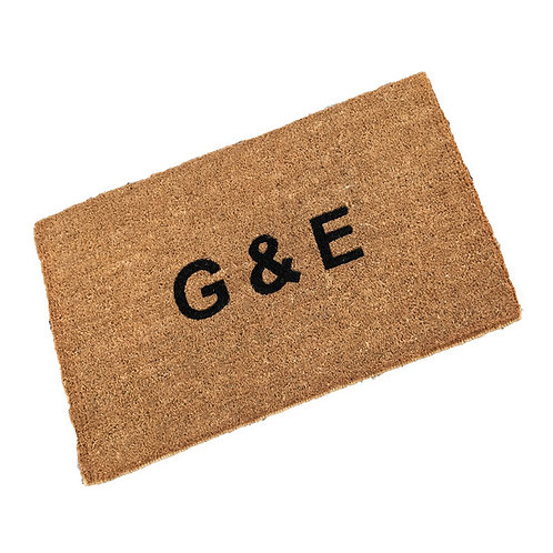 Personalised Stitched Edge Coir Doormat