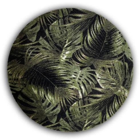 Decorative Wash Mat - Circle Palm