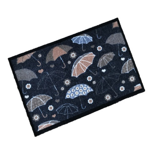 Floating Umbrellas Wash Mat