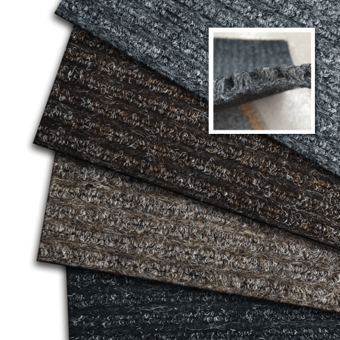 Cut-to-Size Heavy Duty Synthetic Ribbed Matting