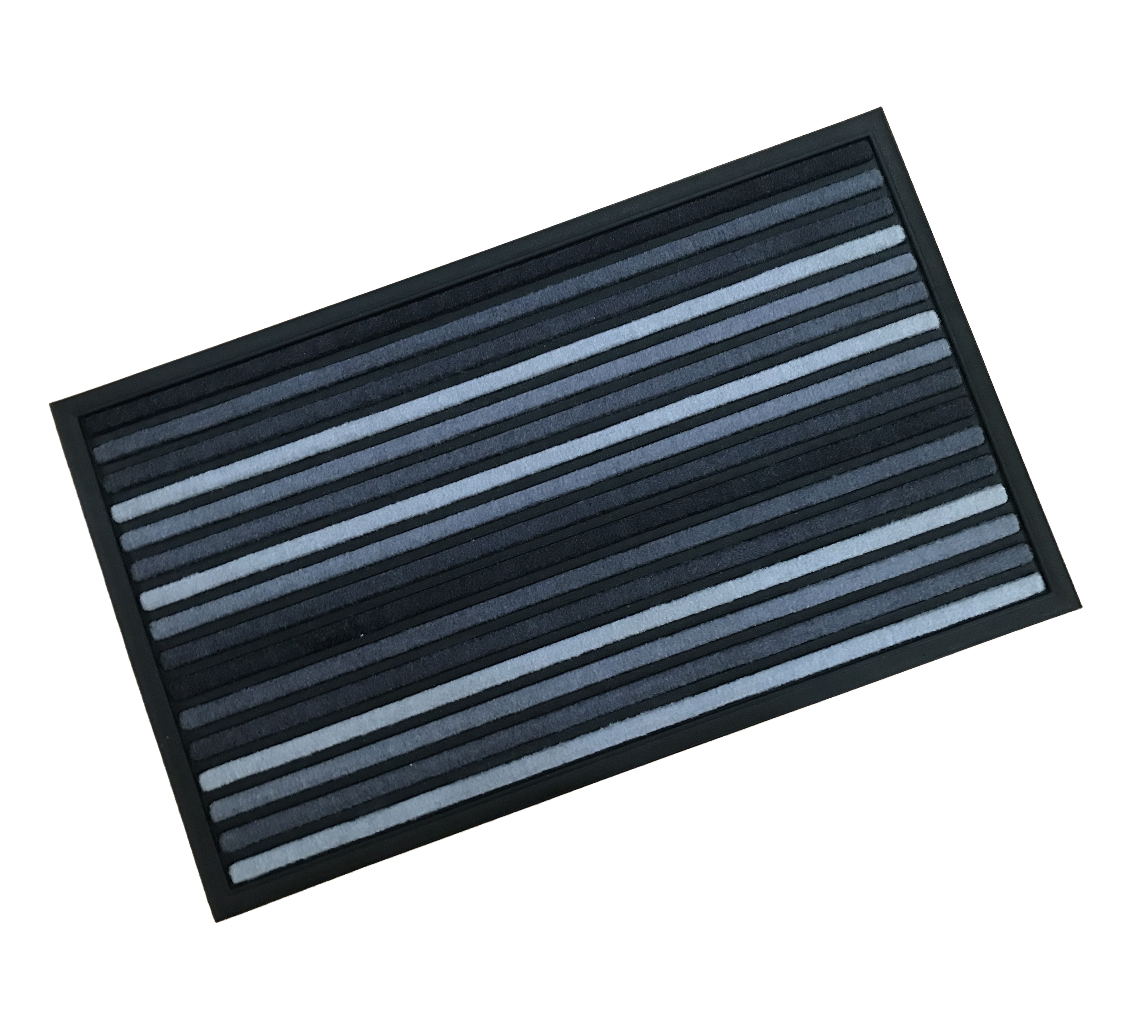 Grey Lines Outdoor Doormat