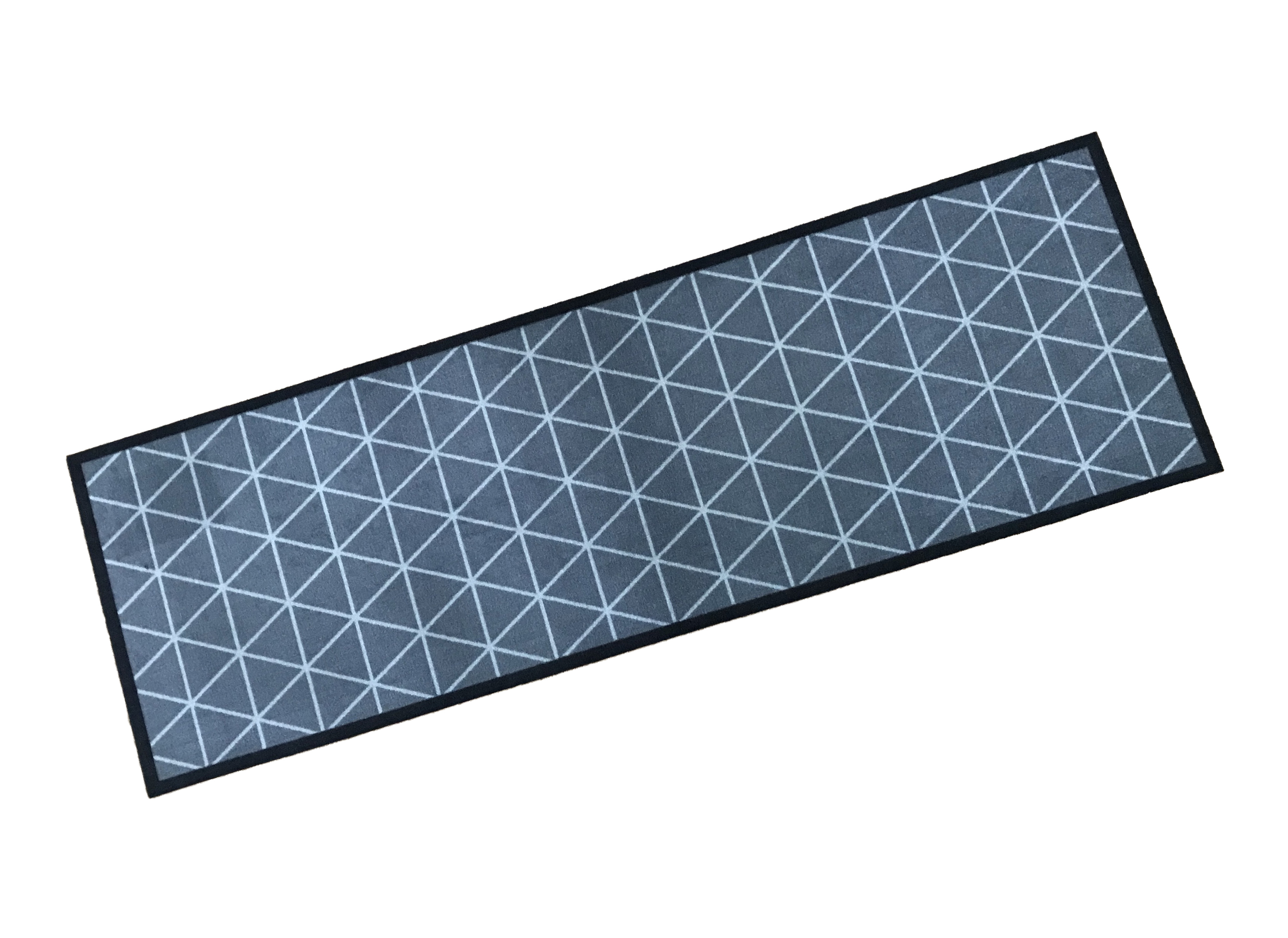 Geometric Pattern Wash Mat