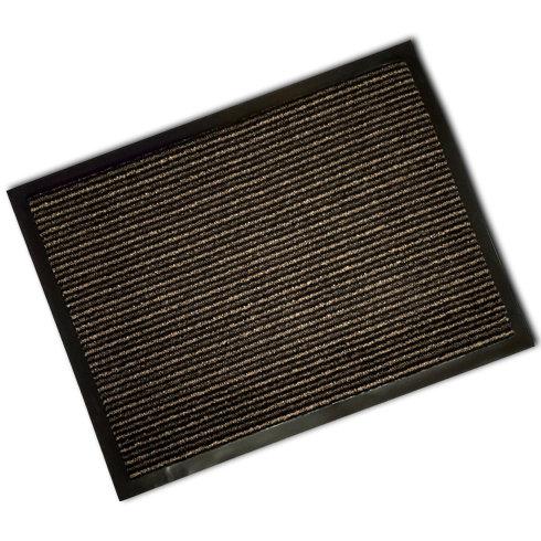 Decorative Scrapa Mat - Beige/Brown Stripe