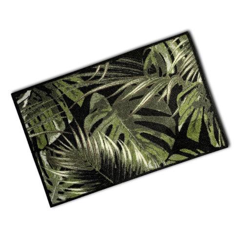 Decorative Wash Mat -Palm Leaves