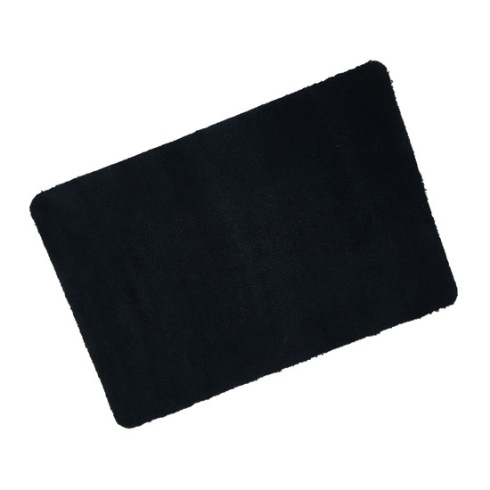 Black Eco Cotton Wash Mat
