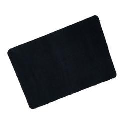 Black Eco Cotton Wash Mat