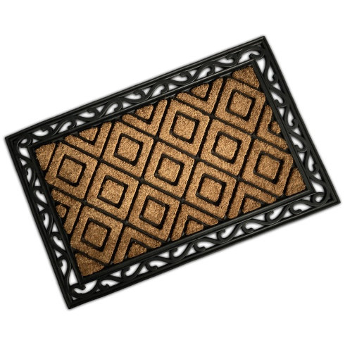 Rubber & Coir Mat - Triangles