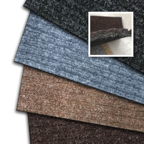 Cut-to-Size Standard Synthetic Ribbed Matting