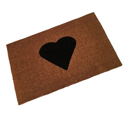 PVC Backed Coir Doormat with Printed Logo