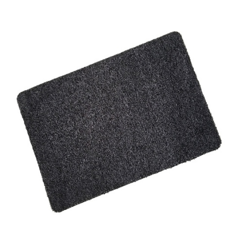 Black Cotton Wash Mat