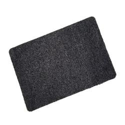 Black Cotton Wash Mat