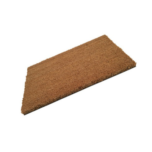 PVC Backed Plain Coir Doormat