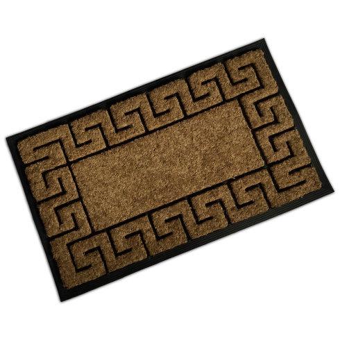 Rubber & Coir Mat - Tile Border