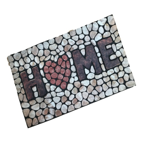 Stone Effect Home Outdoor Mat