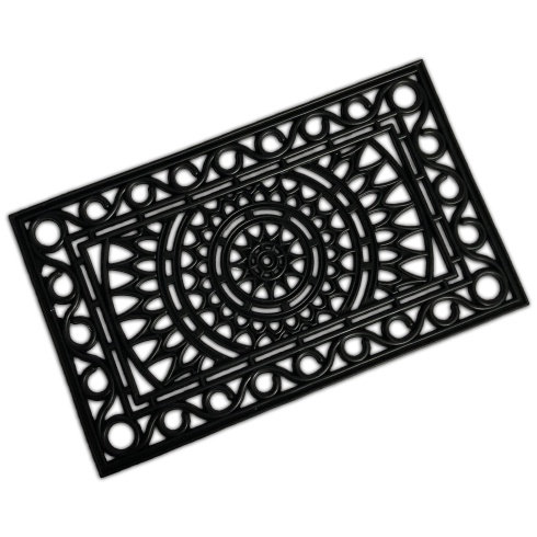Rubber Mat - Sun Design