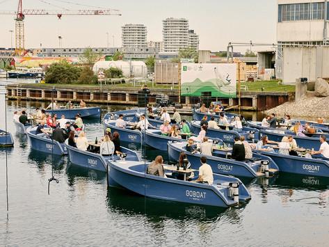 'Sail-in' concerts take over Copenhagen's harbor