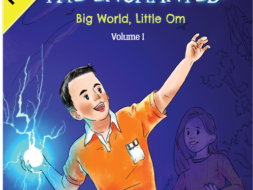 LGBT Author Releases Children's Book OM THE ENCHANTED: Big World, Little Om
