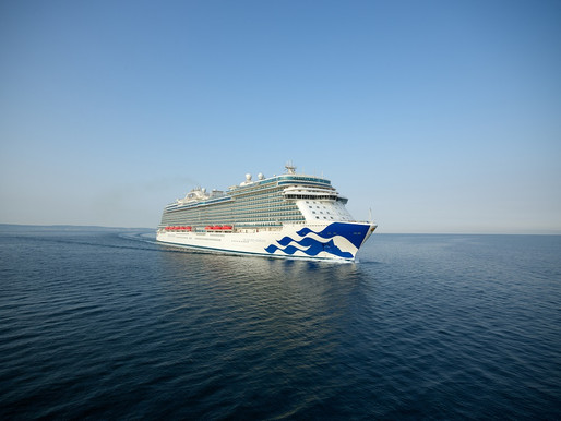 Princess Welcomes New Ship to Fleet