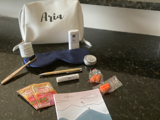 Product Review: Aria Travel Kit