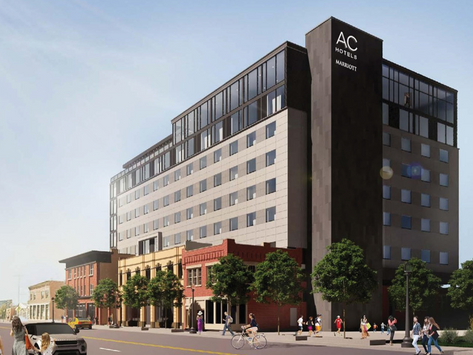 New AC Hotel Brings Edgy Vibes to Pride-Friendly Columbus, Ohio this Summer