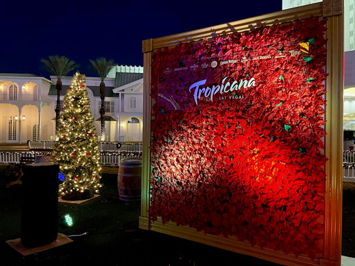 Tropicana Las Vegas Unveils Holiday in Paradise Spreading Holiday Cheer