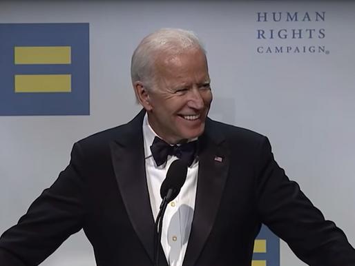 Biden pledges support to LGBTQ community