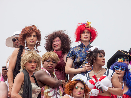 Mascara, Mirth & Mayhem - Independence Day On Fire Island