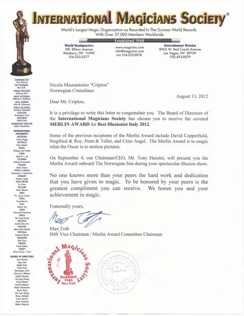 Cripton Merlin Award Letter.jpg