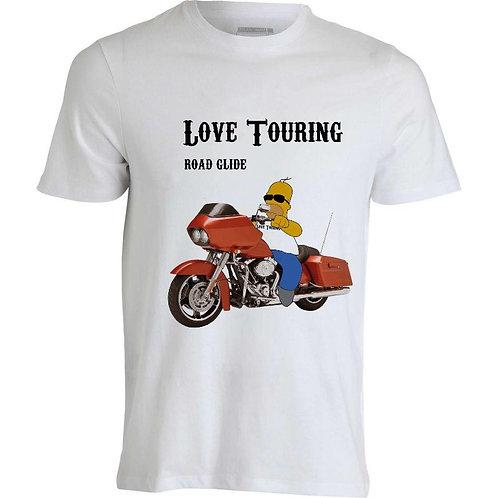 T-shirt uomo Road Glide CarTouring