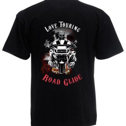 T-Shirt Touring Crew - Modello Road Glide