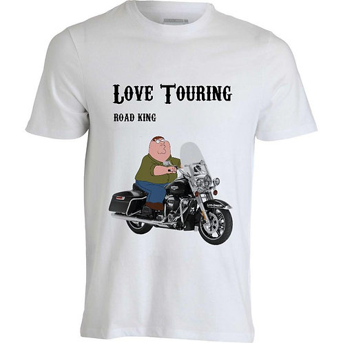 T-shirt uomo Road King CarTouring