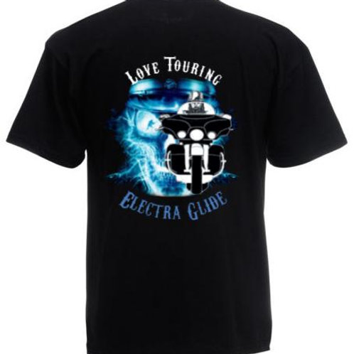 T-Shirt Touring Crew - Modello Electra Glide