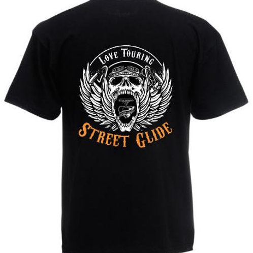 T-Shirt Uomo Touring Crew mod. Street Glide