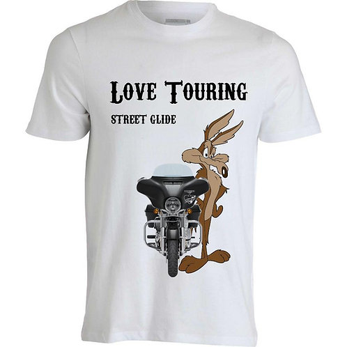 T-shirt uomo Street Glide CarTouring